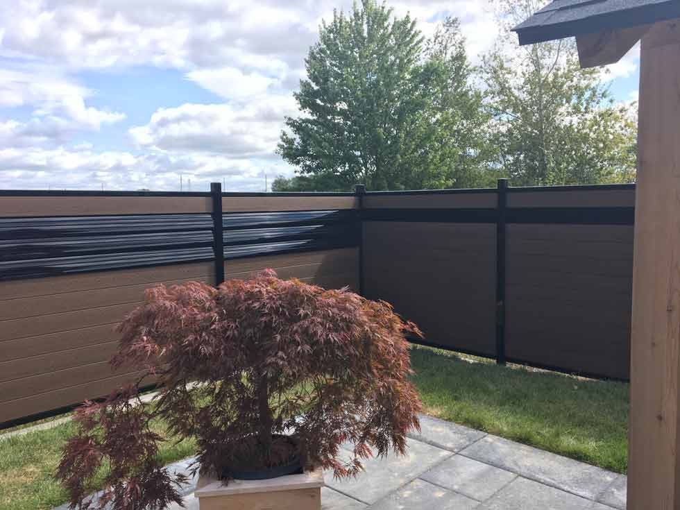 cloture+composite+ezfence+design+aluminium