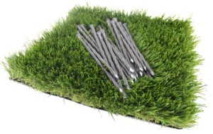 install accessories nails for artificial grass