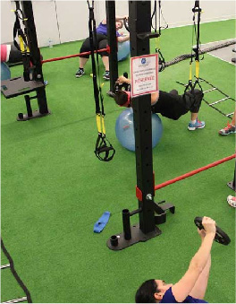 gazon artificiel gym crossfit remise en forme musculation