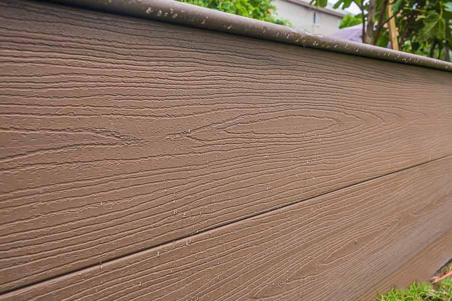Natural Dark Fascia Composite Ezdeck Elite